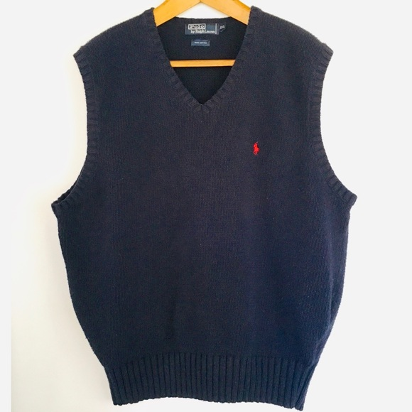 Polo by Ralph Lauren Other - XXL Vintage 80s Polo by Ralph Lauren Sweater Vest!